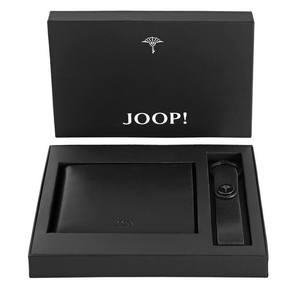 Joop Querbörse Herren Geschenkset Regalo Nero Gift Box black