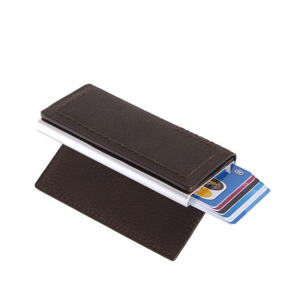 Strellson Kreditkartenetui Norton c-two e-cage dark brown