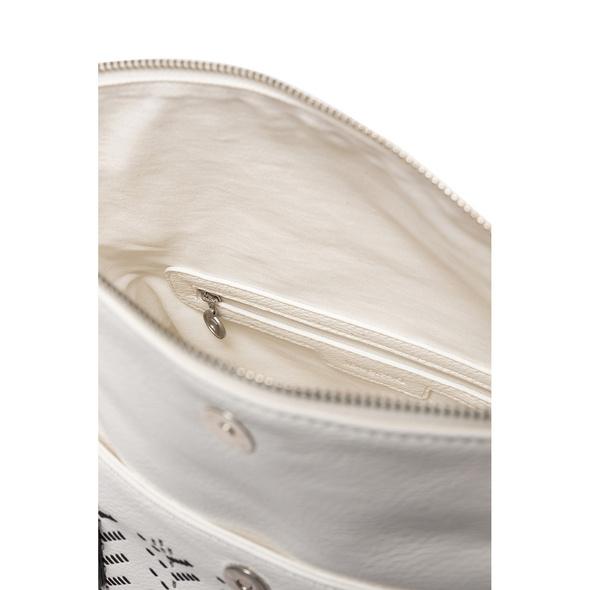 Desigual Kurzgrifftasche Azabache Loverty white
