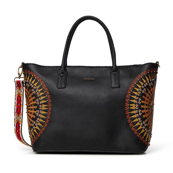 Desigual Shopper African Mandala Holbox black