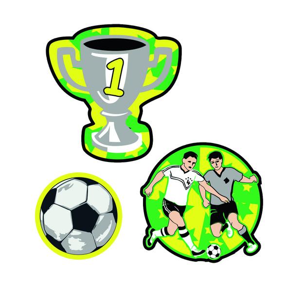 Scout Ergänzungsset Funny Snaps 3er-Set Soccer