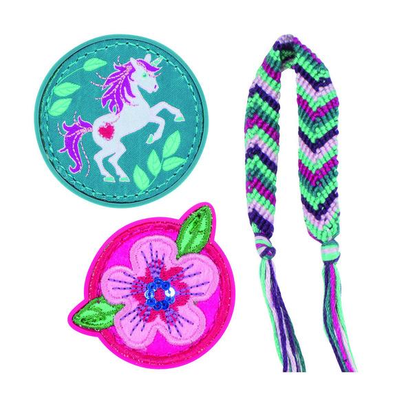 Scout Ergänzungsset Funny Snaps 3er-Set Lilac Leaves