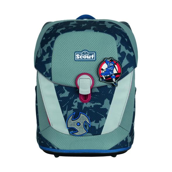 Scout Schulranzen Set 4tlg. Sunny II Blue Ninja