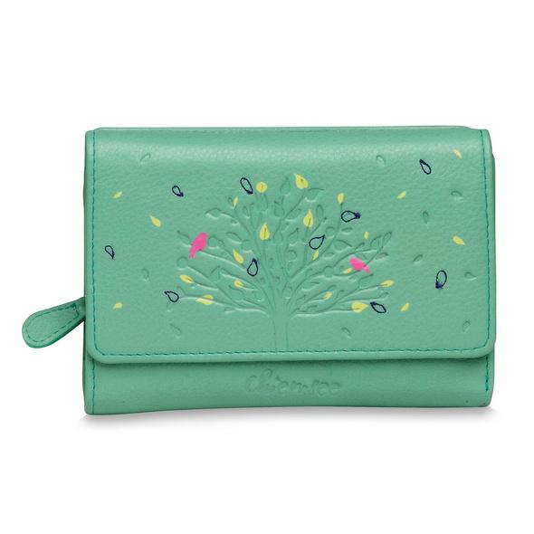 Chiemsee Portmonee Damen M Tree 64099 pastell green