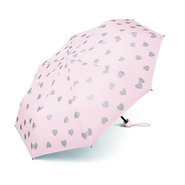 Happy Rain Taschenschirm 53115 Super Mini Herzen valentine pink