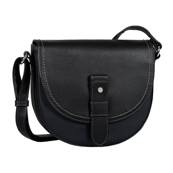 Tom Tailor Umhängetasche Matera Flap black
