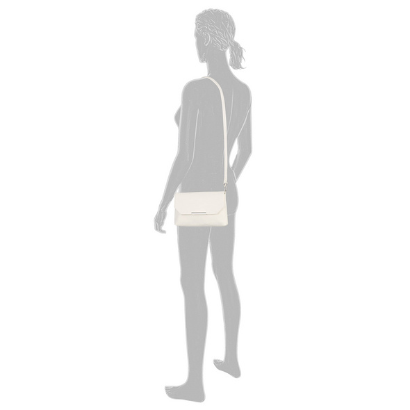 Tom Tailor Clutch Kenza white