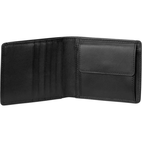 Bree Querbörse Pocket 110 black soft
