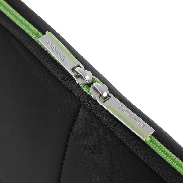 "Samsonite Laptophülle Airglow Laptop Sleeve 15.6"" schwarz/grün"
