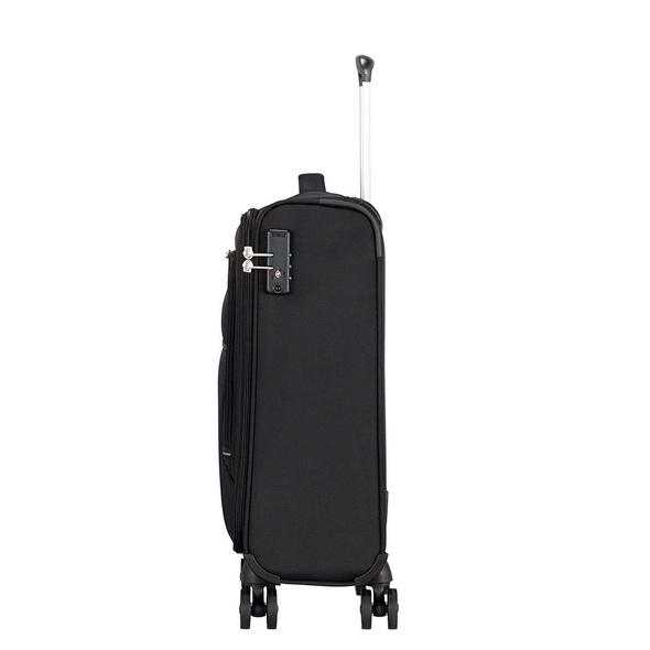 American Tourister Reisetrolley Crosstrack Spinner 55cm black/grey