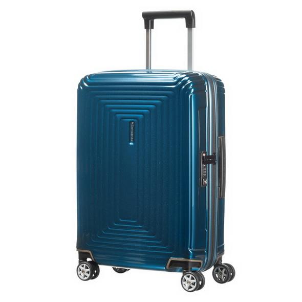 Samsonite Reisetrolley Neopulse 55cm metallic blue