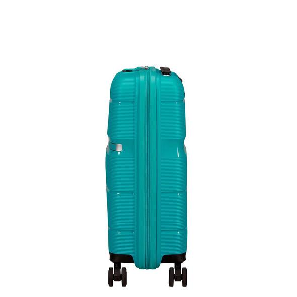 American Tourister Reisetrolley Linex Spinner 55cm blue ocean