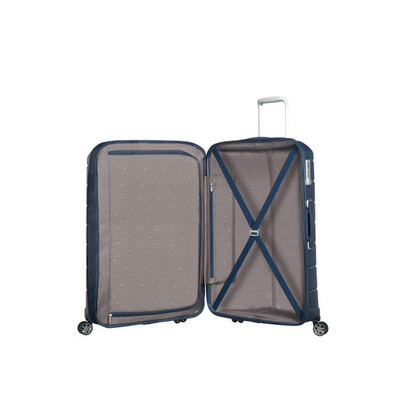 Samsonite Reisetrolley Flux 75cm navy blue
