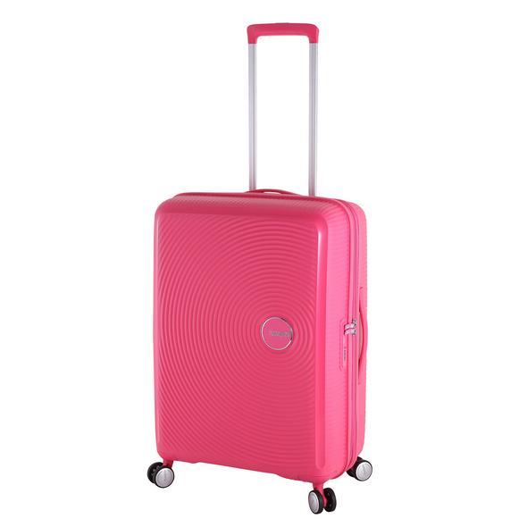American Tourister Reisetrolley Soundbox 67cm hot pink