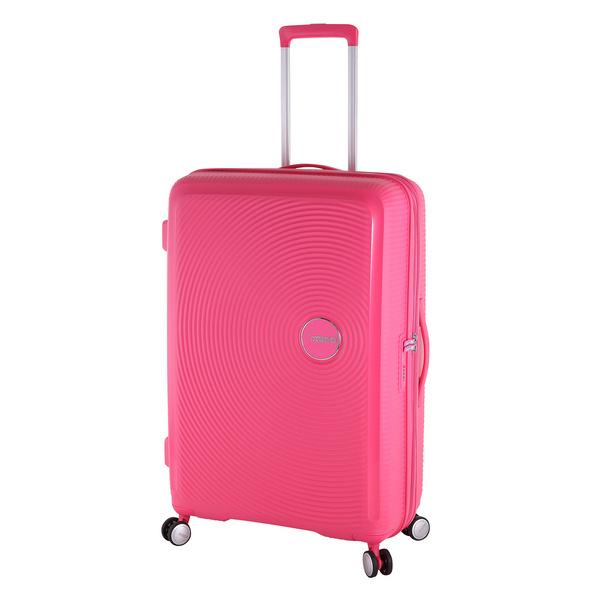 American Tourister Reisetrolley Soundbox 77cm hot pink