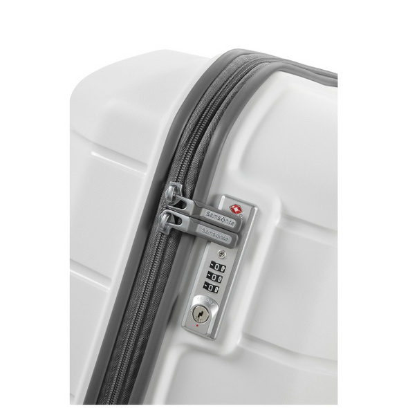 Samsonite Reisetrolley Flux 75cm white