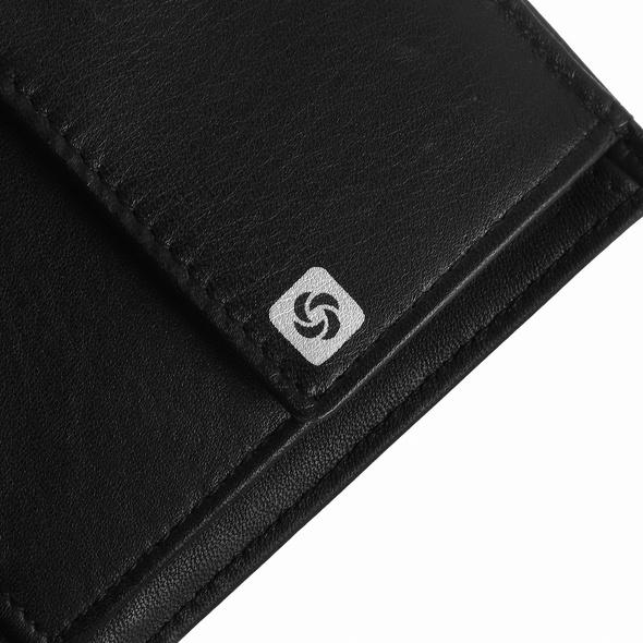 Samsonite Hochkantbörse 58308 Slim Light schwarz
