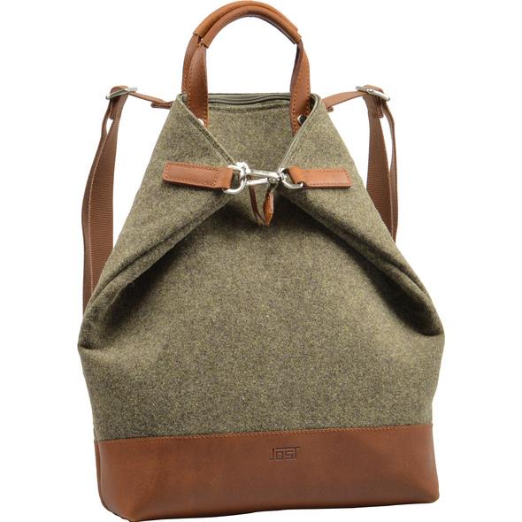 Jost Damenrucksack Farum XChange Bag S braun