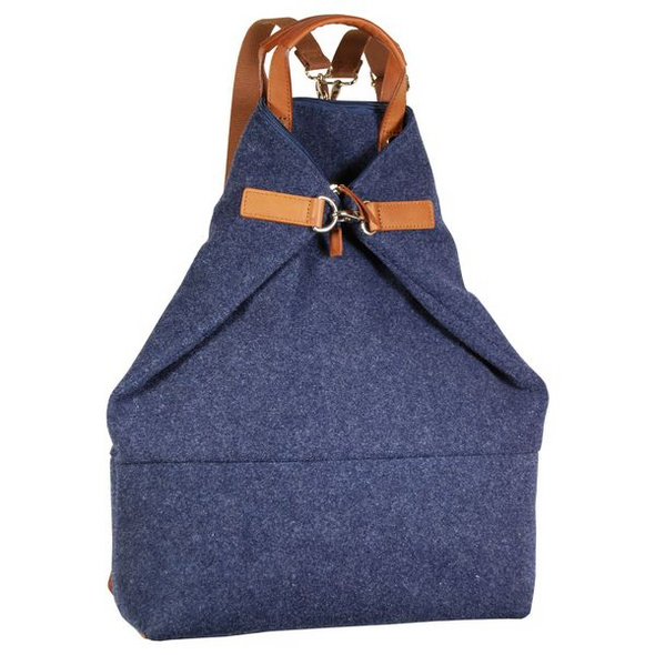 Jost Rucksack Farum X-Change 3 in 1 Bag  L blau