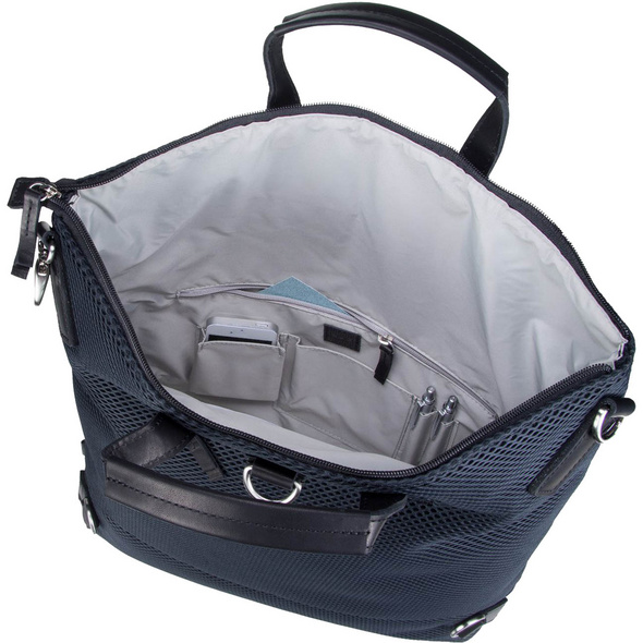 Jost Laptoprucksack X-Change Mesh Bag L 3in1 silber