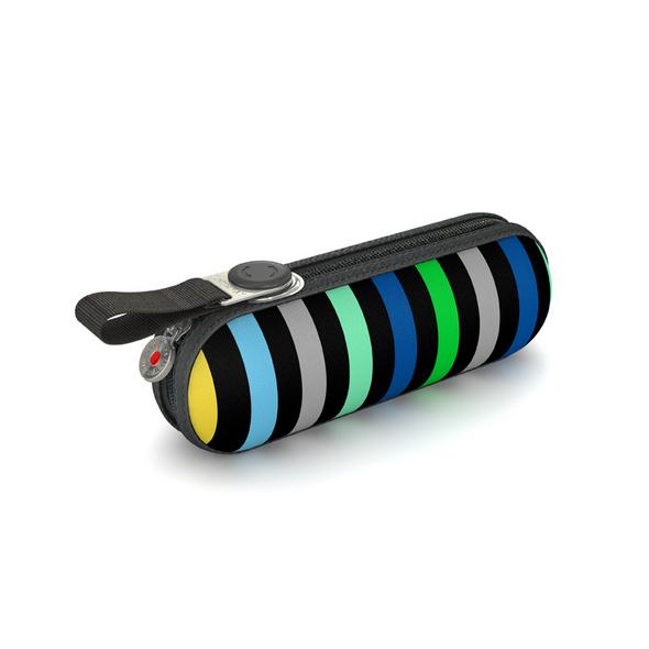 Knirps Taschenschirm X1 Stripes blau