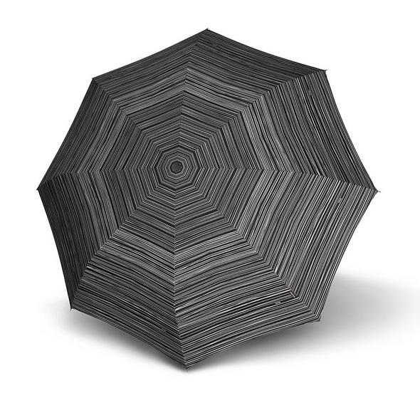 Knirps Taschenschirm X1 stripes black
