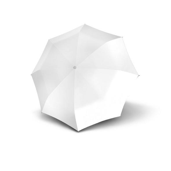 doppler Stockschirm Special Long Wedding Automatic Uni White