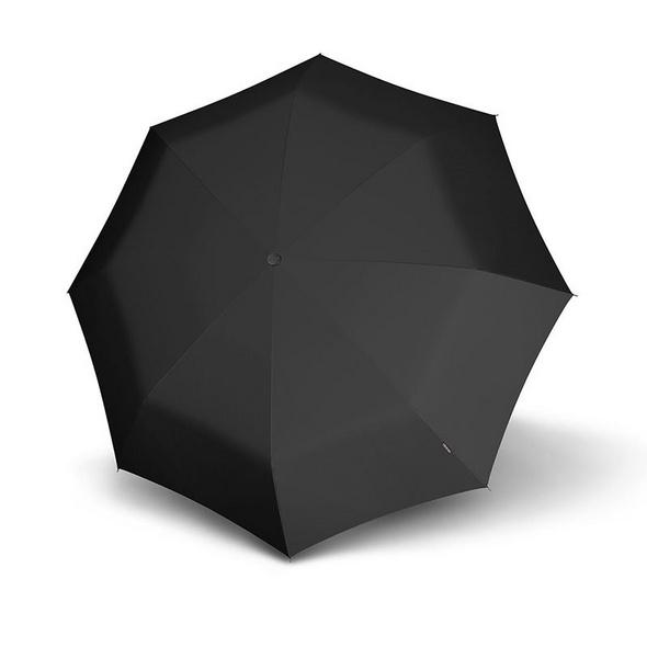 Knirps Taschenschirm Topmatic SL mit Holzgriff schwarz