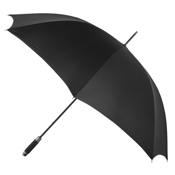 Doppler Stockschirm Golf Fiberglas schwarz 2