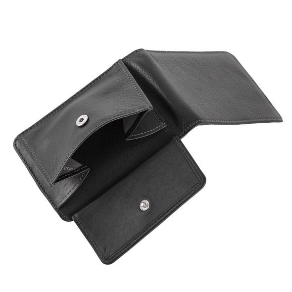 Braun Büffel Querbörse 038 schwarz