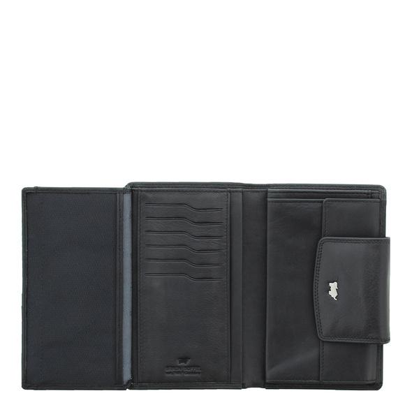 Braun Büffel Portmonee Golf 2.0 Geldbörse 12CS schwarz