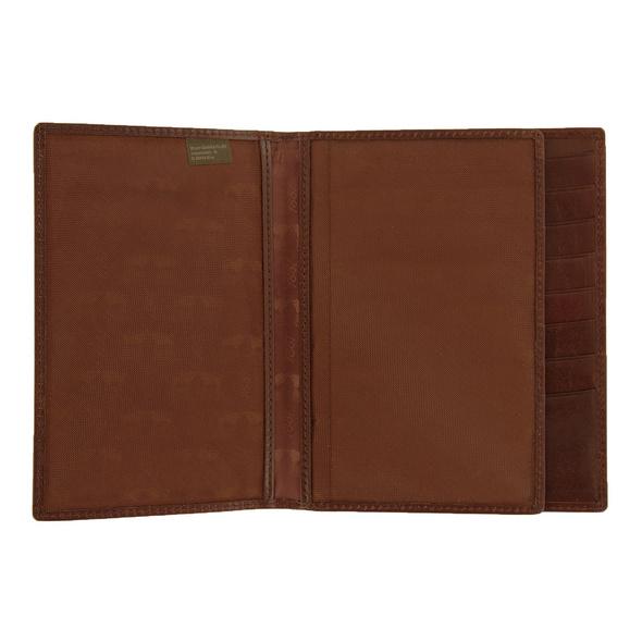 Braun Büffel Brieftasche Country palisandro