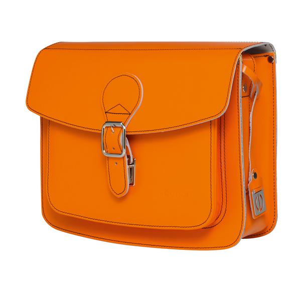 CEEVEE Leather Umhängetasche Catchall II orange