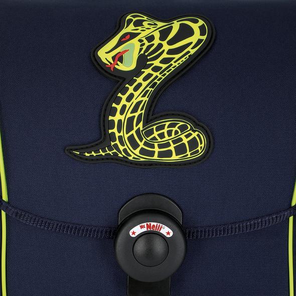 McNeill Schulranzen Set 4-tlg. Ergo Explorer Snake