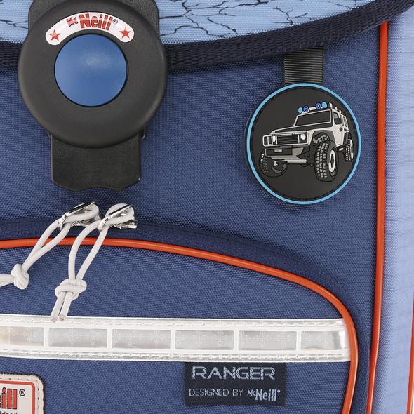 McNeill Schulranzen Set 4-tlg. Ergo Explorer Ranger