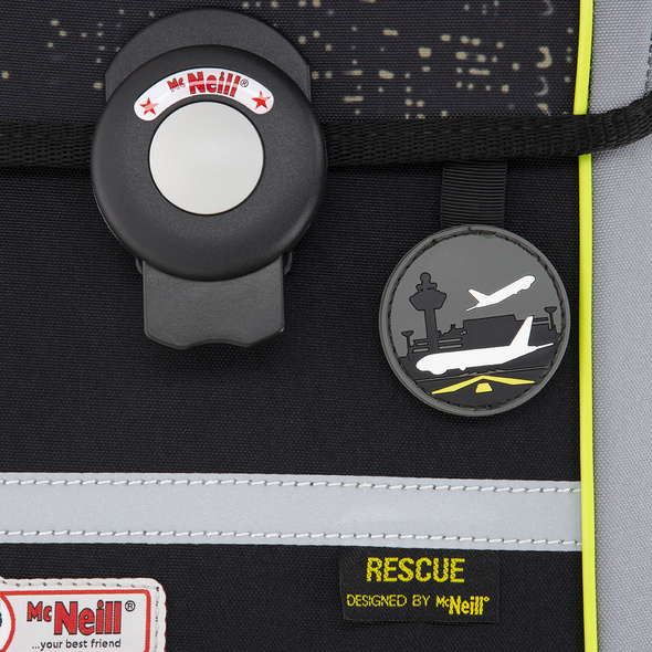 McNeill Schulranzen-Set 4tlg. Ergo Mac Rescue