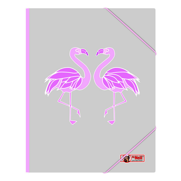 McNeill Gummizugmappe A4 Flamingo