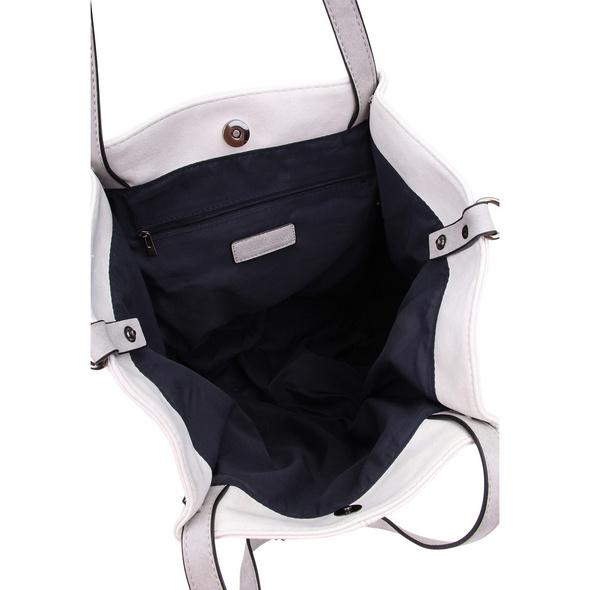 Emily & Noah Shopper Bag in Bag 300 ecru/lightgrey