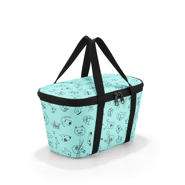 reisenthel Einkaufskorb coolerbag XS cats and dogs mint