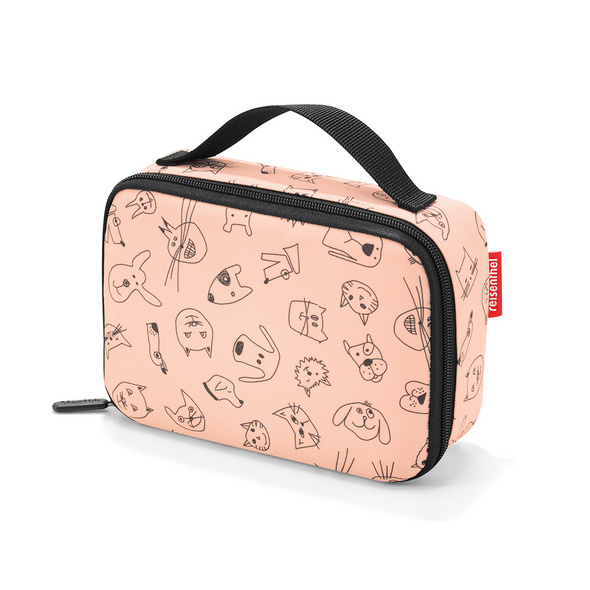 reisenthel thermocase kids cats and dogs rose
