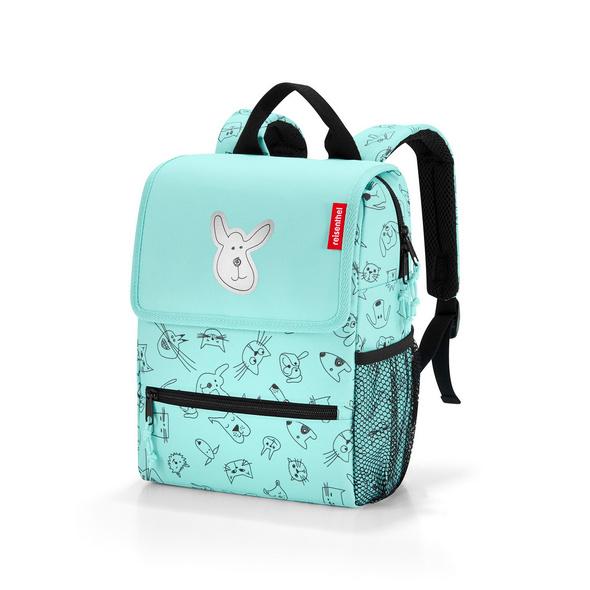 reisenthel Kinder Rucksack bagpack kids 5l cats and dogs mint