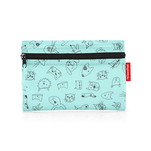 reisenthel Reisetasche mini maxi dufflebag S kids 10l cats and dogs mint