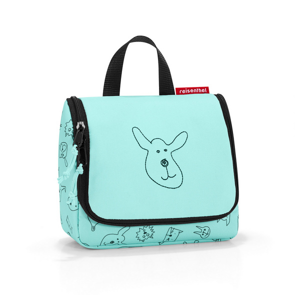 reisenthel Kulturbeutel toiletbag S cats and dogs mint