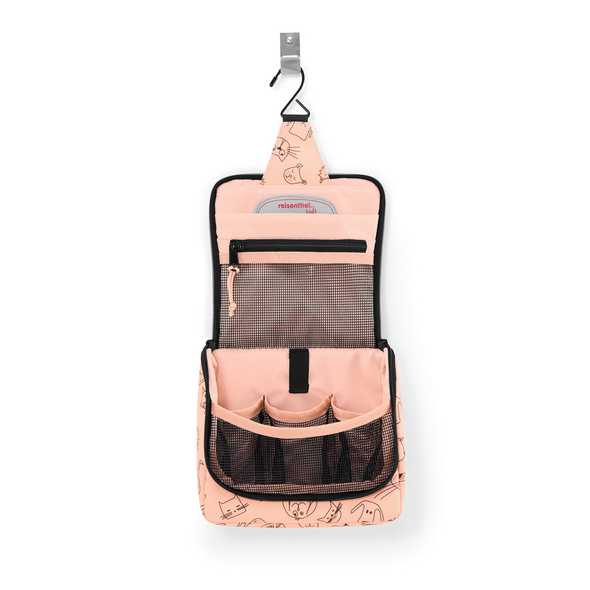 reisenthel Kulturbeutel toiletbag S cats and dogs rose