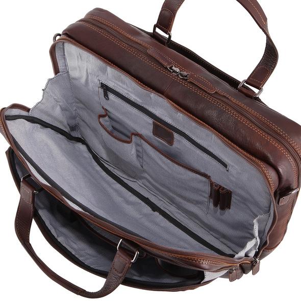 "Sattlers & Co. Laptoptasche The Barn Misterio 15"" black"