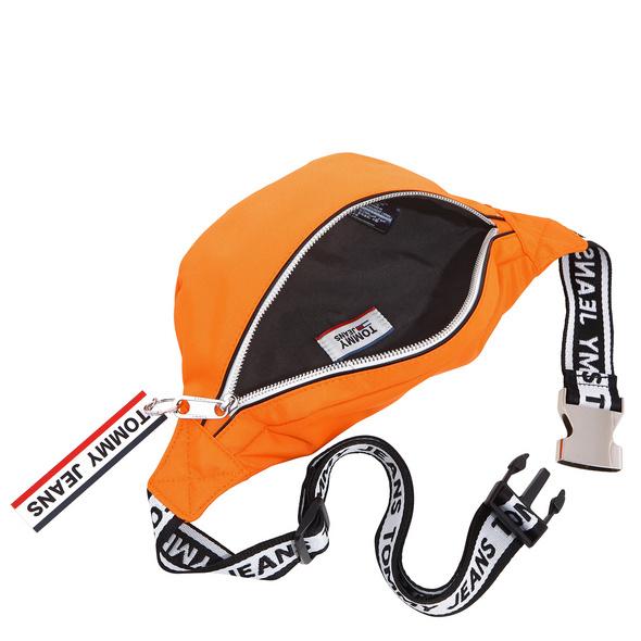 Tommy Jeans Bauchtasche Logo Tape Bumbag orange peel