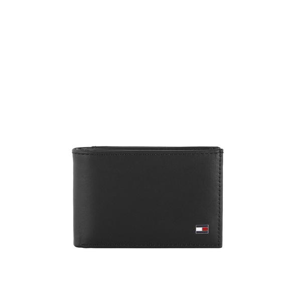 Tommy Hilfiger Querbörse Herren Eton Mini CC Flap & Coin Pocket schwarz