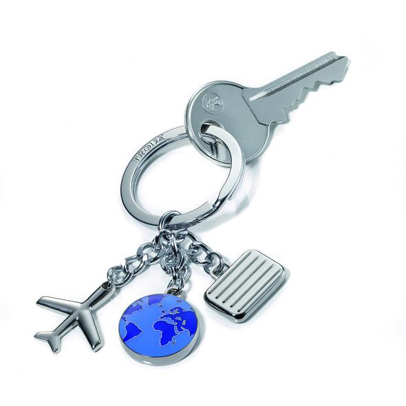 Troika Schlüsselanhänger KR10 Weltenbummler