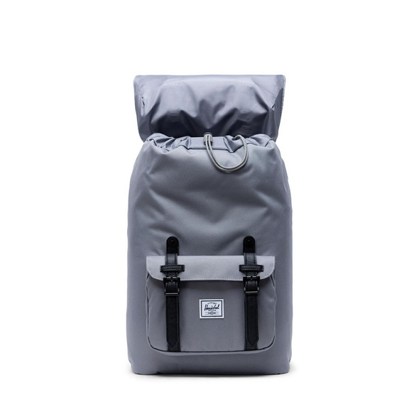 Herschel Rucksack 'Little America' Mid-Volume 17l grey/black
