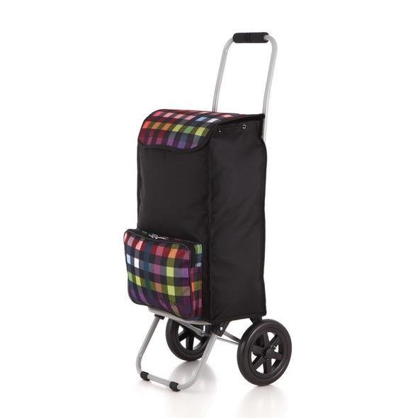 Rada Einkaufstrolley ER/1 40l multicolor check